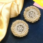 Pearl Lariat Earrings
