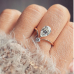 Lucy Two Stone Ring