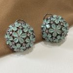 Floral Dome Earrings