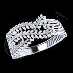 Diamond Kada Bracelet