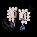 LUXE BLUE DIAMOND EARRINGS