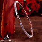 Wire Diamond Bracelet