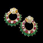 Ruby Emerald And Diamond