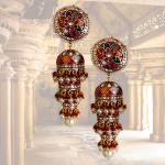 Polki Jhumki By Heritage jewellery